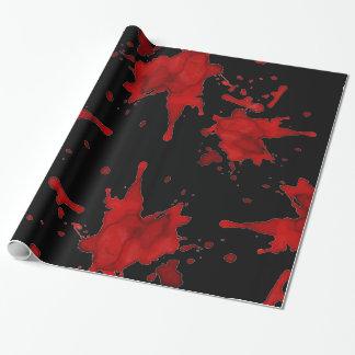 Zombie-Blut-Spritzer Geschenkpapier