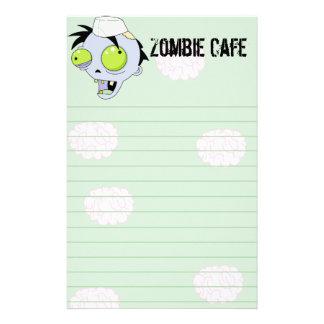 Zombie-Café Individuelles Druckpapier