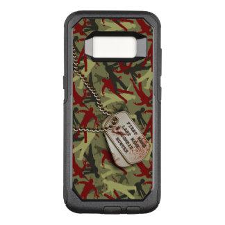 Zombie-Camouflage mit Hundeplaketten OtterBox Commuter Samsung Galaxy S8 Hülle