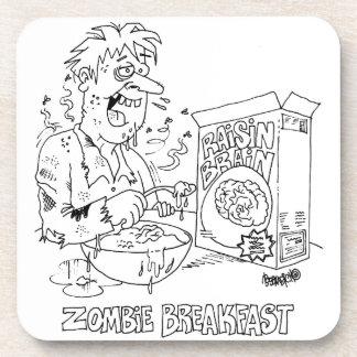 Zombie-Cartoon-Untersetzer Untersetzer