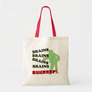 Zombie-Gehirn-Gehirn-GehirneBurp! Leinentasche