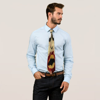 Zombie-Gesichts-Krawatte Personalisierte Krawatte