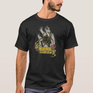 Zombie-Gewehr-Kontrollen-Gewehre töten nicht T-Shirt