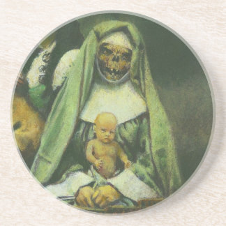 Zombie-Hexe-Untersetzer Untersetzer