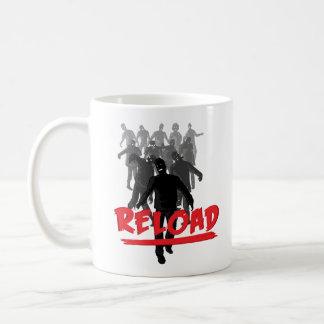Zombie-Horden-Umladen Kaffeetasse