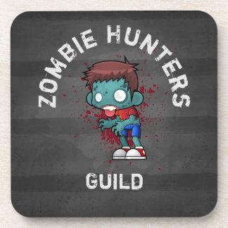 Zombie-Jäger-Innung mit dem Blut-Spritzer Creepy Getränkeuntersetzer