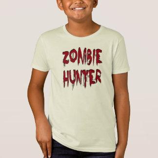 Zombie-Jäger-Rot T-Shirt