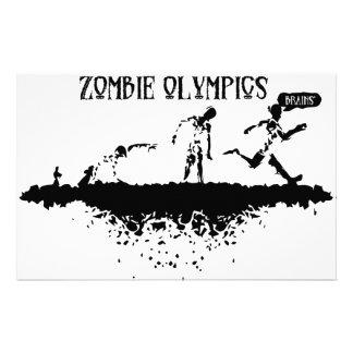 Zombie-Lauf Büropapier