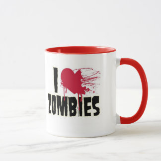 Zombie-Liebe Tasse