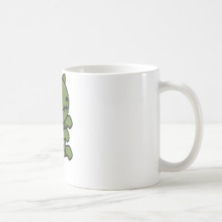 Zombie-Miezekatze Kaffeetasse