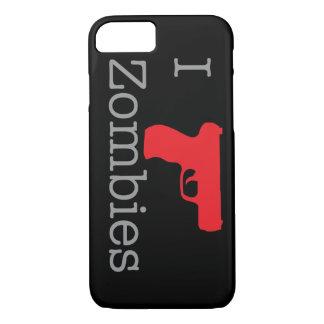 Zombie schwarze Identifikation iPhone 8/7 Hülle