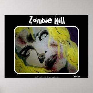 """""""Zombie-Tötungs-"""" Plakat"""