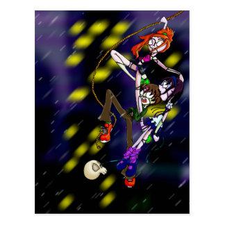 Zombie-Trio Postkarte