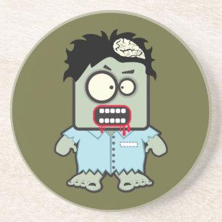 Zombie-Untersetzer Sandstein Untersetzer
