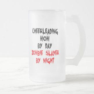 Zombieslayer-Cheerleading Mamma Mattglas Bierglas
