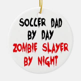Zombieslayer-Fußball-Vati Keramik Ornament
