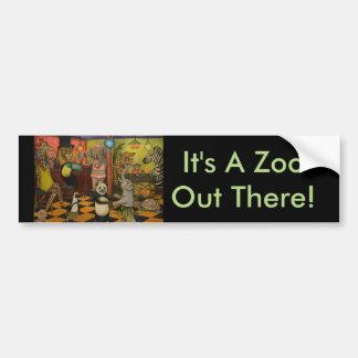 Zoobar Autoaufkleber