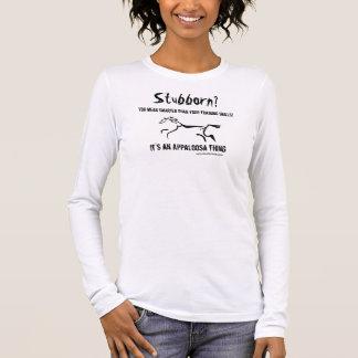 Zu eigenem ist ein Appaloosa, ein zu kennen Langarm T-Shirt