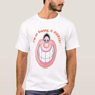 Zu glücklich T-Shirt