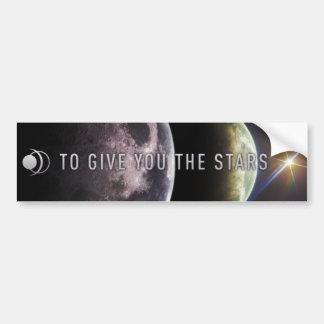 Zu Ihnen die Sterne geben Autoaufkleber
