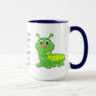 Zu Perfektion Schwarzem 15 Unze-Wecker-Tasse Tasse