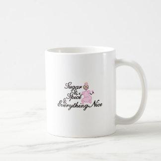 Zucker und Gewürz Kaffeetasse