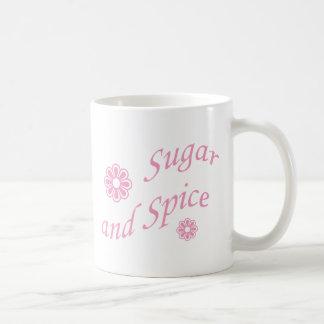 Zucker und Gewürz Tasse