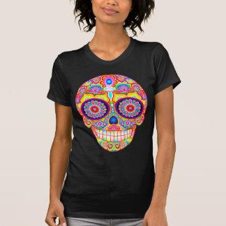 Zuckerschädel-Shirt - Tag des toten Kunst-T - T-Shirt