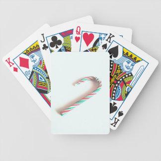 Zuckerstange Pokerkarten