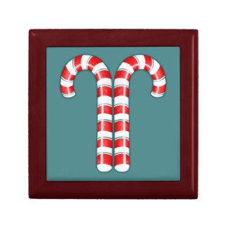 Zuckerstange-Rot Geschenkboxen