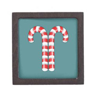 Zuckerstange-rote erstklassige Geschenkboxen Kiste
