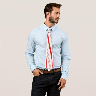 Zuckerstange-Streifen Personalisierte Krawatten