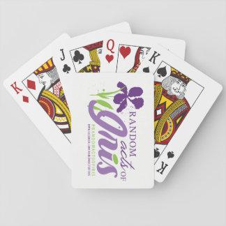 Zufallstate der Iris-Spielkarten Spielkarten