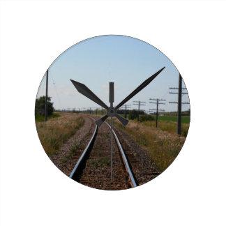Zug spürt Wanduhr auf