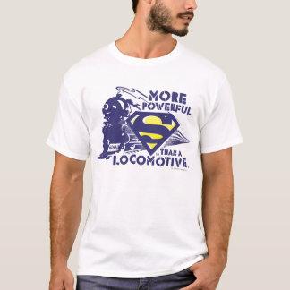 Zug und Logo T-Shirt