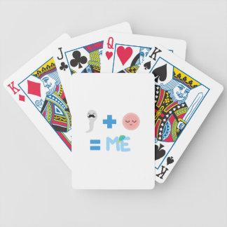 Zugangsprozess-Fahrrad-Spielkarten Poker Karten