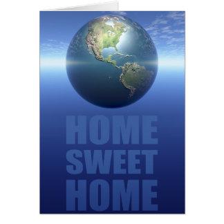 Zuhause-Bonbon-Zuhause Karte