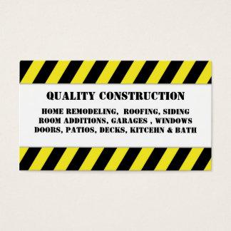 Zuhause, das Bau umgestaltet Visitenkarte