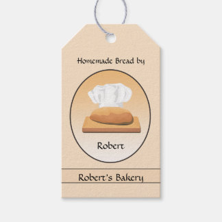 Zuhause gebackener Brot-Bäckerei-Geschenk-Umbau Geschenkanhänger