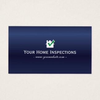 Zuhause-Inspektions-wirkliches Anwesen-königliches Visitenkarten