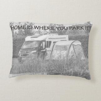 """""""Zuhause ist, wo Sie es"""" pillows parken Dekokissen"""