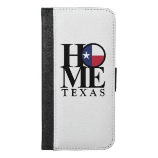ZUHAUSE Texas iPhone 6/6s plus Geldbörsen-Kasten
