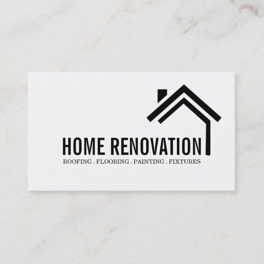 Zuhause Umbau Des Renovierungsbaus Visitenkarte Zazzle At