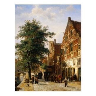 Zuiderhavendijk, Enkhuizen durch Cornelis-Springer Postkarte