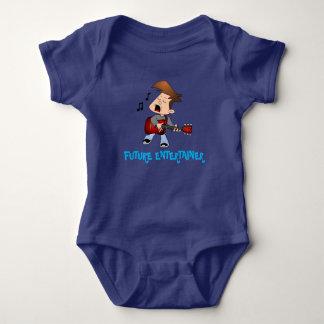 Zukünftige Entertainer-Musik Baby Strampler