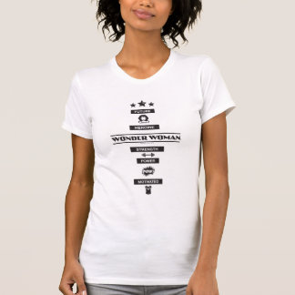 Zukünftige Heldin-Wunder-Frau T-Shirt