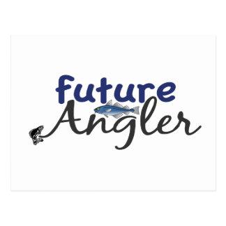 Zukünftiger Angler (Fischen) Postkarten