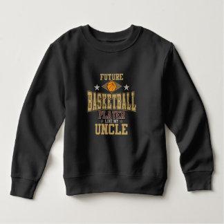 Zukünftiger Basketball-Spieler mögen meinen Onkel Sweatshirt