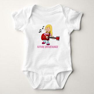 Zukünftiger Entertainer Baby Strampler