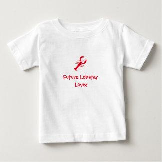 """""""Zukünftiger Hummer-Liebhaber-"""" Baby-T-Stück Baby T-shirt"""